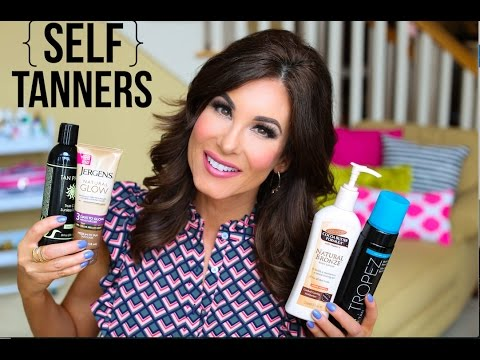 SELF - TANNING PRODUCTS + How I Store Them