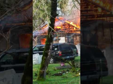 House Fire Stayton, OR 11/29/16