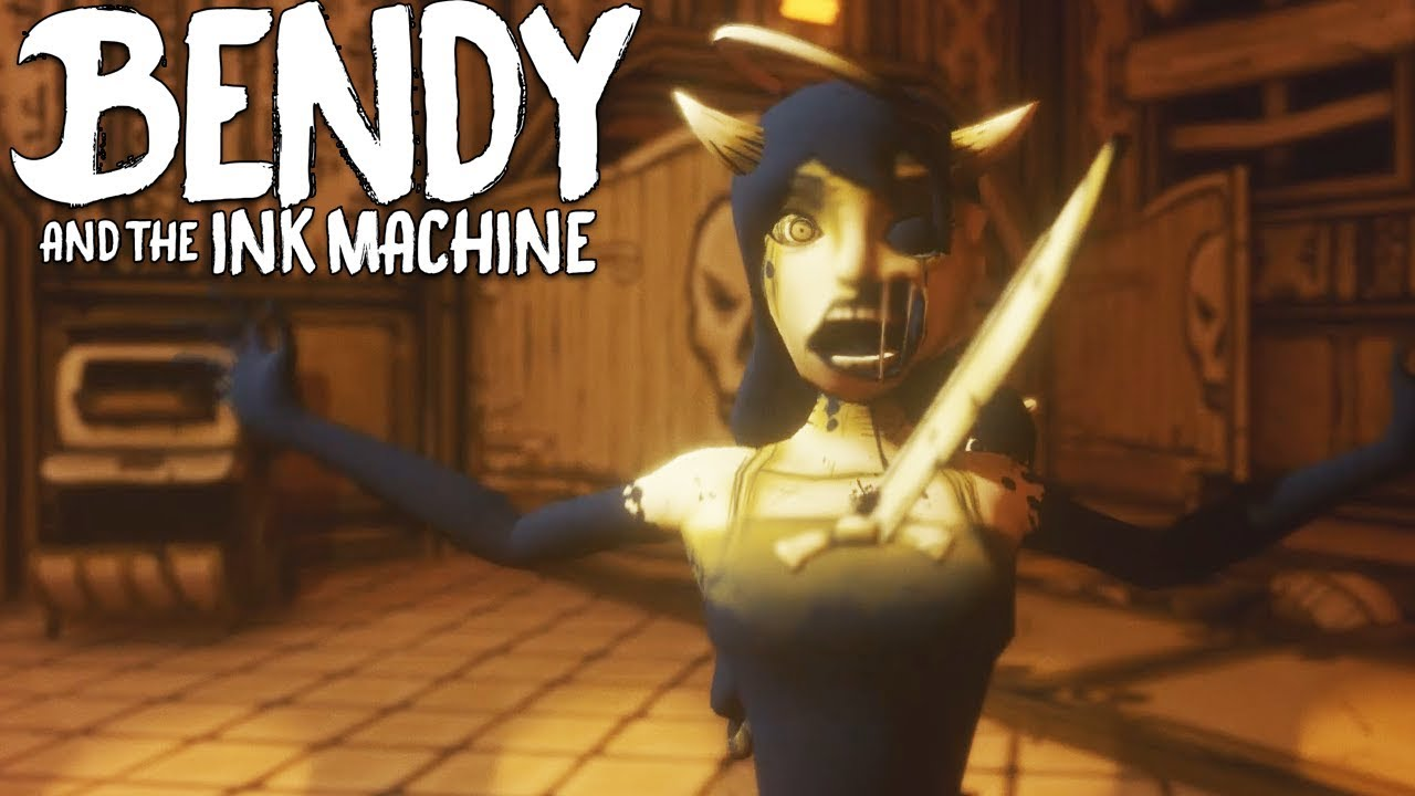 BENDY AND THE INK MACHINE Chapter 4 All Endings - Ending ...