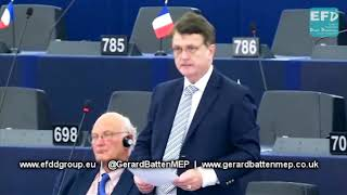 British ex servicemen who served in NI are being unjustly persecuted in UK - Gerard Batten MEP