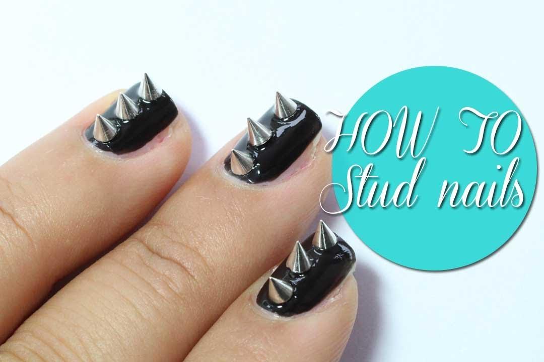 Studs spike nails - YouTube