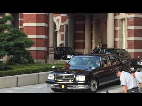2016年10月2日天皇皇后両陛下帰京2