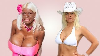 Tanning Addict Barbie Wants To Be 'Crispy Brown'