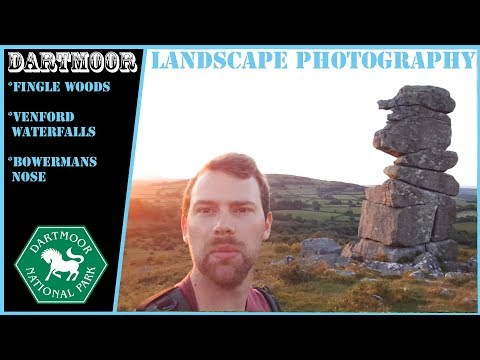 WOW Epic Dartmoor Tor | Landscape Photography at Bowermans nose and Venford Waterfall, Vanlife Devon