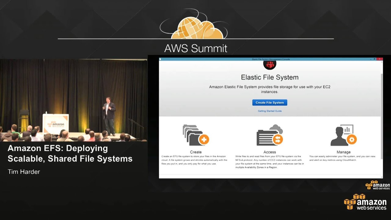 Amazon Elastic File System Available | PolarSeven