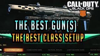 Black Ops 4 Best Class Setup  Best Gun, Perks, Attachments BO4 Pro Class Guide (ICR / Maddox)