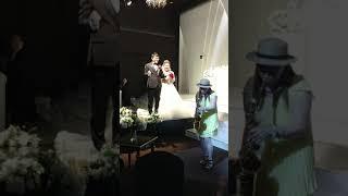 홍성 예식장 ~신혼여행 떠나요ㆍ연주ㅋ  신랑 엄마  춤…
