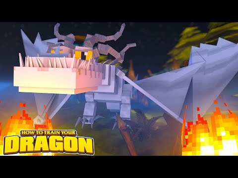 THE WHITE DRAGON!  HOW TO TRAIN YOUR DRAGON 70 w Little Lizard