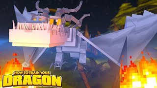 THE WHITE DRAGON  HOW TO TRAIN YOUR DRAGON 70 w Little Lizard