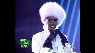 GRACE JONES - Party Girl (Italian TV 1987)