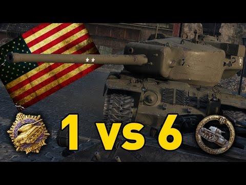 World of Tanks || T29 - 1 vs 6