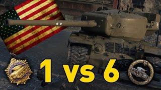 World of Tanks || T-29 - 1 vs 6