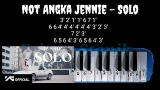 NOT PIANIKA JENNIE - SOLO