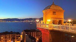 Гостья со Стамбула, вечер с видом на Измир, кафешки\меню. + Музыка\танец
