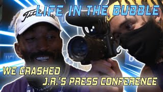 Life in the Bubble - Ep. 6: We Crashed JR Smith's Press Conference! 😂 | JaVale McGee Vlogs