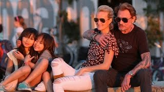 "Johnny Hallyday "" Photos de famille """