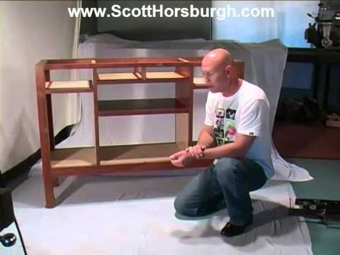 How to Construct a Wooden Sideboard Carcass for Fine Furniture Making