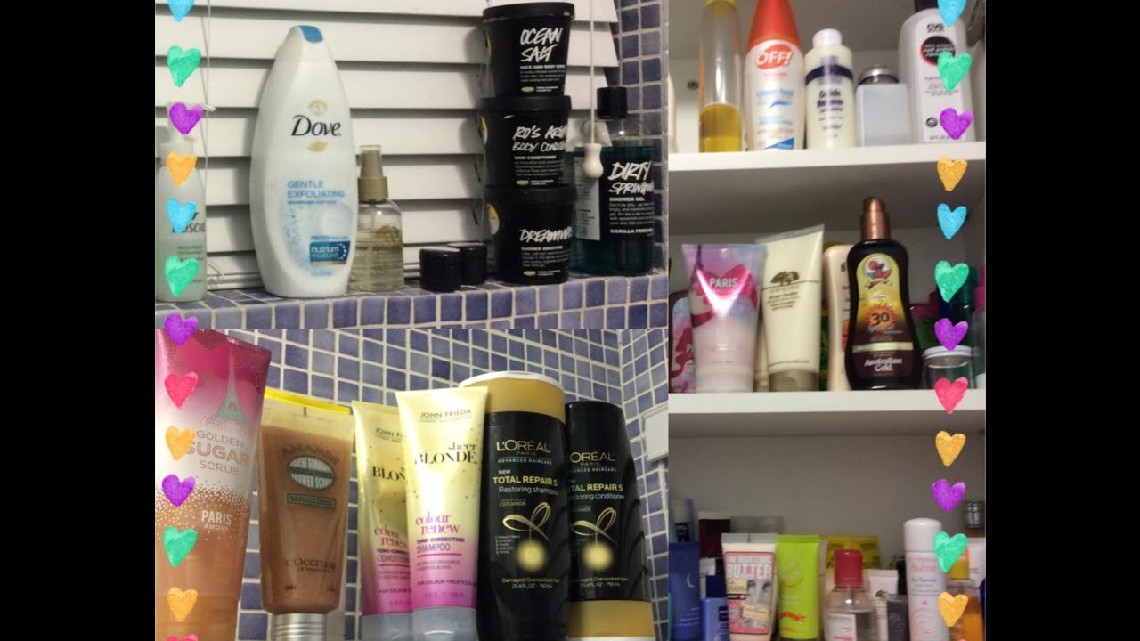 Bathroom Tour / Organization (Part 2): What\'s In My Shower ...