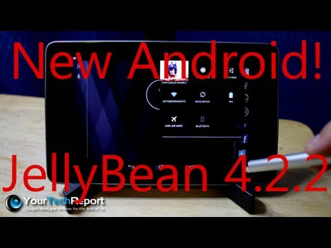 Hands On: Jelly Bean Android 4.2.2 On The Nexus 7 - Bug Fixes And Improvements