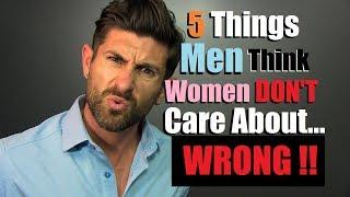 5 Things Men DON