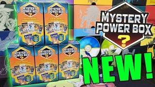 BRAND NEW POKEMON MYSTERY POWER BOXES!!!