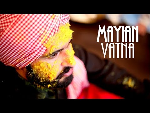 Mayian Vatna - Manreet weds Sumeet | Punjabi Sikh Wedding Calgary