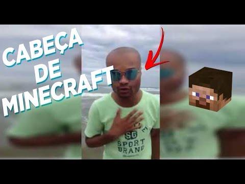 Lucian Gabriel Cabeça De Minecraft