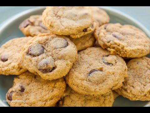 Mini Chocolate Chip Cookies: VEGAN, EGG-FREE, & GLUTEN FREE | Simplybakings