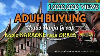 Download lagu ADUH BUYUNG - Manis Manja Group Koplo KARAOKE rasa ORKES Yamaha PSR S970