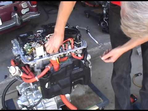 nissan leaf motor unit disassembly youtube rh youtube com Nissan Sentra Engine Diagram Nissan Xterra Engine Diagram