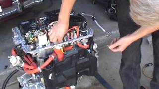 Nissan Leaf Motor Unit Disassembly