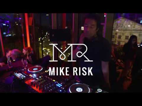 DJ Mike Risk live at W Lounge, Hotel W Amsterdam June 2017 Part 1