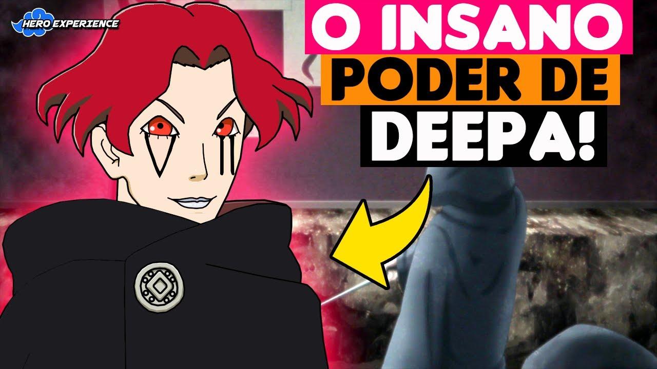 O PODER INSANO DO NOVO MEMBRO DA KARA DEEPA NO ANIME DE BORUTO!