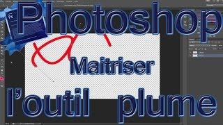 Outil plume : Comment tracer une ligne, une courbe ou une forme (Photoshop)