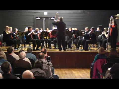Harmonie Transverse Flute Choir Concert, 2018
