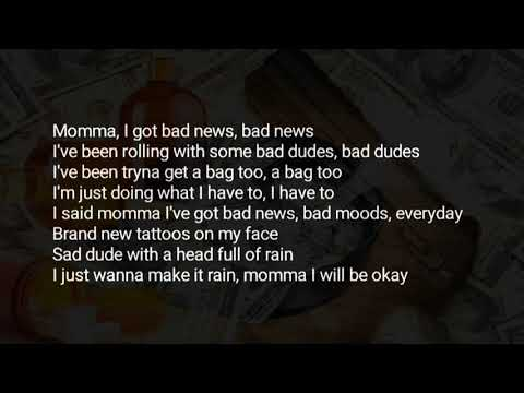 Tom MacDonald & Madchild - Bad News (Lyrics) ft. Nova Rockafeller