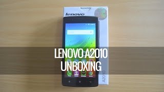 Lenovo A2010 Unboxing