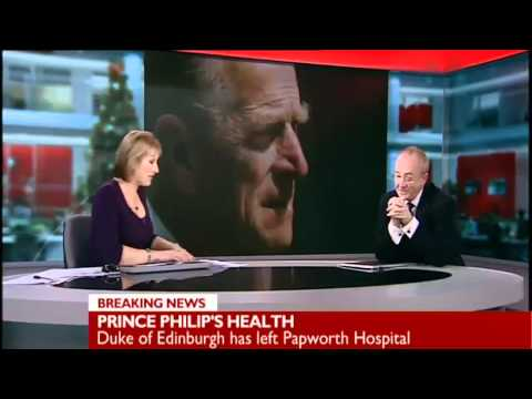 Prince Philip Leaves Papworth Hospital