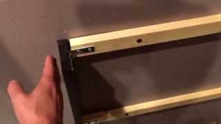 How to install dishwasher end-panel (kitchen remodel)