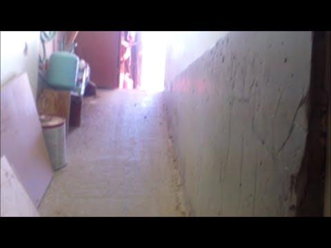 Ramp into basement from garage (DIY)