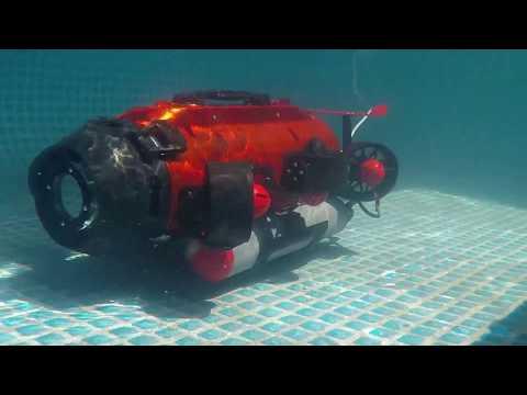 Ttrobotix Underwater Drone Seadragon ROV 6 thrusters with auto stabilization onboard Computer