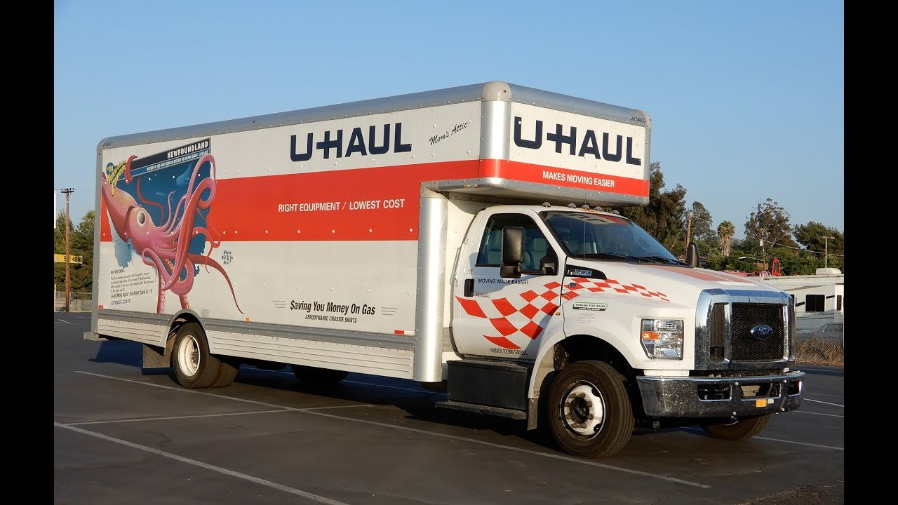 Uhaul Truck Rental 26 Foot How To Youtube