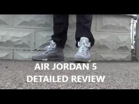 air jordan retro 5 wolf grey