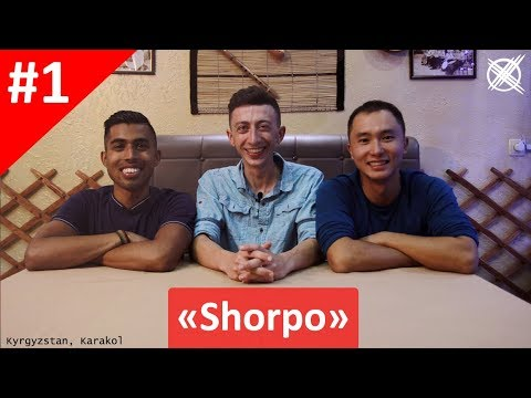 Episode #1 - Foreigners try Kyrgyz-Nomad food for the first time