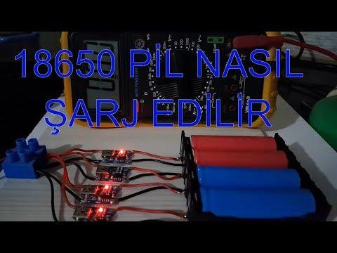 18650 Lithium ion Pil nasıl şarj edilir DIY (Tp 4056 Şarj Devresi Kendin Yap ) 🇹🇷
