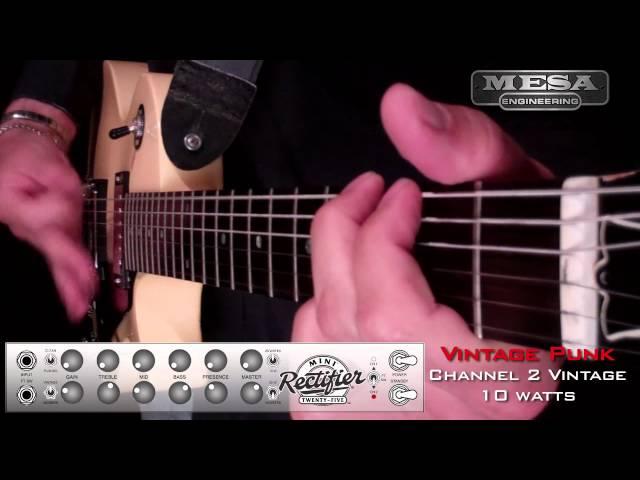 MESA/Boogie Mini Rectifier Ch. 2 VINTAGE – Punk