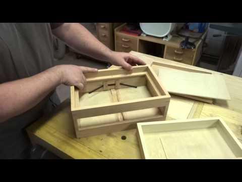 Spring Open Drawer Box