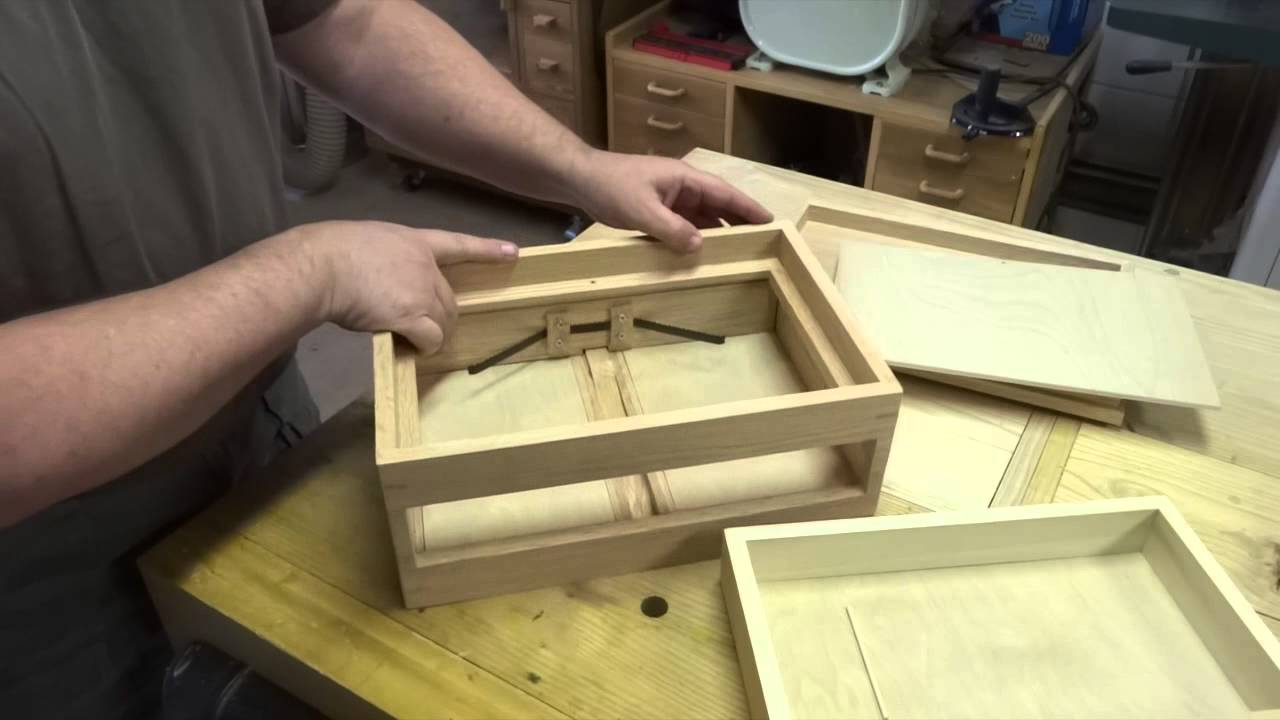 & Spring Open Drawer Box - YouTube Aboutintivar.Com