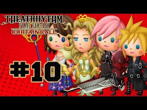 Theatrhythm Final Fantasy: Curtain Call - Walkthrough Part 10 Music Stage - Final Fantasy IX