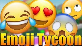 LUXURY NEW EMOJI TYCOON! 😱😍 Roblox Emoji Tycoon